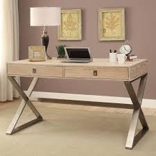 wood and metal writing desk desk modern leather top desk black writing metal writing table