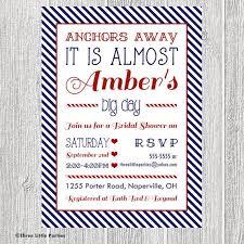 Nautical Bridal Shower Invitations Best 25 Nautical Bridal Showers Ideas On Pinterest Write Name