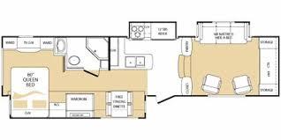 everest rv floor plans 2010 keystone rv everest fifth wheel series m 352 l standard