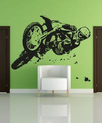 vinyl wall decal sticker motocross riding osaa196b details about this wall decal