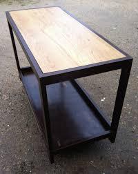 etabli cuisine table comptoir de cuisine établi métal et bois