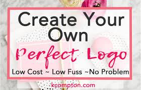 create a blog logo you love part 1 kelly compton