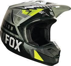 motocross gear bags closeout 179 08 fox racing v2 vicious dot helmet 234777
