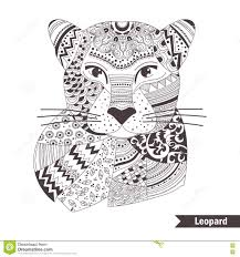 henna coloring pages coloring pages animals leopard print coloring pages free
