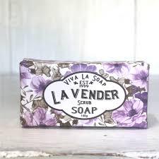 Scrub Viva lavender scrub bar soap viva la