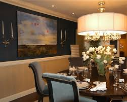 dining room paint colors dark furniture round brown varnished wood
