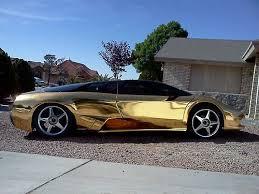 lamborghini murcielago replica kit car for sale buy used lamborghini murcielago lp640 replica holy gold chrome