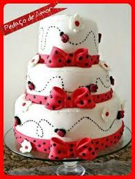 ladybug birthday cake bolo joaninha single tier cakes cake ladybug and