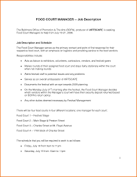 Fast Food Job Resume by Fast Food Management Resume Free Resume Example And Writing Download