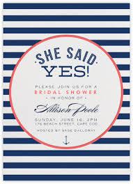 nautical bridal shower invitations nautical bridal shower invitations purplemoon co