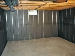 fast basement wall insulation panels best basement wall