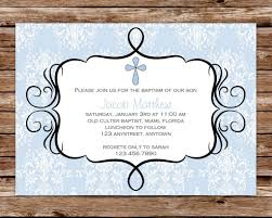 pictures for boys christening invitations