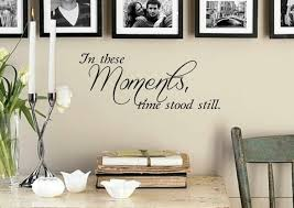 family wall decal in these moments time stood still vinyl zoom