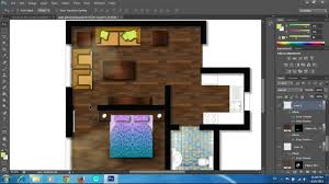 adobe photoshop cs6 rendering a floor plan part 2 furniture