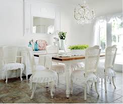 Shabby Chic White Dining Table by Best 25 Salle à Manger Romantique Ideas On Pinterest Salle De
