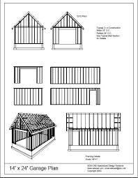 24 x 24 garage plans free member download 14 x 24 garage plans free house plan reviews