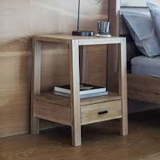 Bedside Tables Modern Bedroom Furniture Oak Wooden Side Table Modish Living