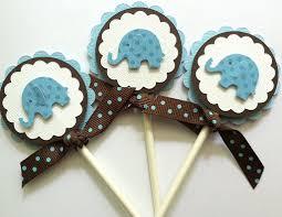 cupcake toppers baby boy cupcake toppers baby shower cupcake