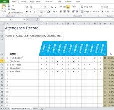 Attendance Sheet Template Excel Free Employee Attendance Sheet Template Excel Tmp