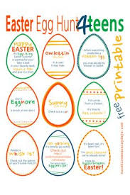 easter egg hunt ideas free printable indoor easter egg hunt clues free printable