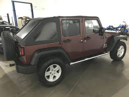 jeep wrangler maroon 2008 jeep wrangler unlimited 4x4 x 4dr suv in chantilly va euro