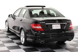 mercedes c300 4matic 2013 2013 used mercedes certified c300 4matic amg sport awd