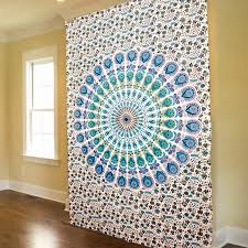decorating sweet colorful tapestry wall hangings and interior