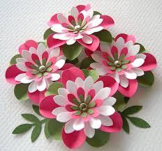 pastèque de fleurs de papier rond plissé avec par sarasscrappin
