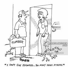 Plumber Estimate by Dodgy Pipe And Pictures From Cartoonstock