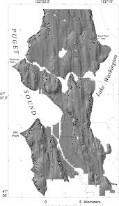Map Of Greater Seattle Area by Probabilistic Assessment Of Precipitation Triggered Landslides