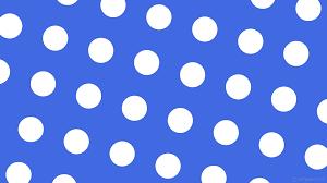 Polka Dot Wallpaper Wallpaper Blue Polka Dots Spots White 4169e1 Ffffff 345 148px 278px