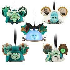 the haunted mansion ear hat ornament set from disney store