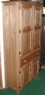 real wood kitchen pantry cabinet the original amish oak pantry cabinet by clayborne s amish