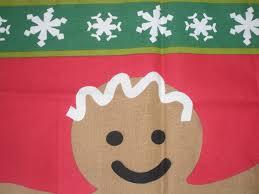 now designs christmas tea kitchen towel gingerbread man new