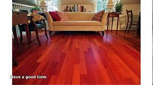 Santos Mahogany Laminate Flooring Mahogany Hardwood Flooring Youtube