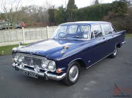 rare manual 1965 ford zodiac mk3 executive