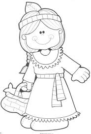 thanksgiving indian coloring images halloween