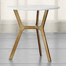 Brass Accent Table Antique Brass Accent Tables Crate And Barrel