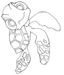 finding nemo coloring pages 3 turtles finding nemo