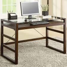 mesmerizing large glass office table shining inspiration large