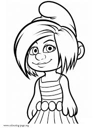 coloring pages smurfs 2 smurfs 2 movie smart