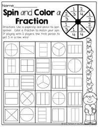 fractions worksheet half third fourth fractions worksheet