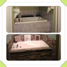 decorating cozy bathroom design with airstone lowes plus