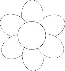 printable large flowers large flower template to print printable 360 degree