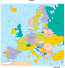 a map of europe with countries political map of europe youreuropemap simple earope ambear me