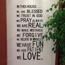 Wall Stickers For Home Decoration by Popular Christian House Decor Buy Cheap Christian House Decor Lots