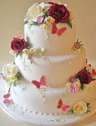 Wedding Cake Flowers 797 Best Wedding Cakes With Flowers 2 Images On Pinterest