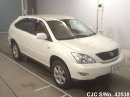 toyota lexus harrier 2004 2004 toyota harrier pearl for sale stock no 42538 japanese