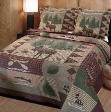 greenland home moose lodge quilt set home