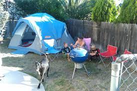 Backyard Camping Ideas Pretend Play Camping